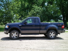 2.5 HBS leveling kit