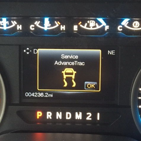 Service AdvanceTrac message on 2015 - Ford F150 Forum ...
