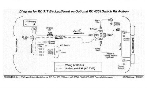 Kc Light Wiring Diagram - Wiring Diagram Sheet on
