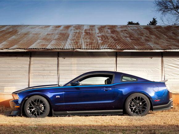 Kona Blue Mustang