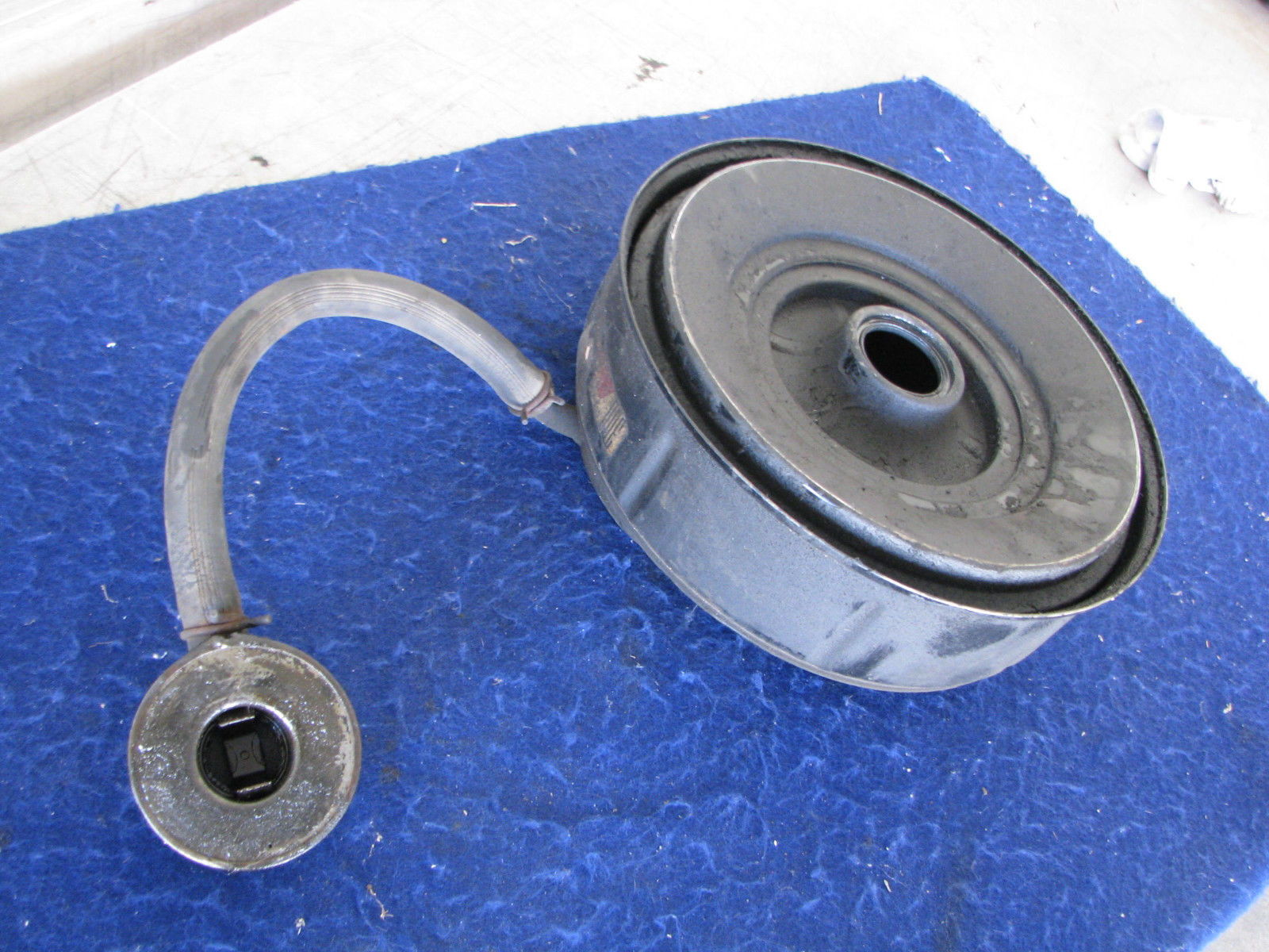 Truck Oil Bath Air Cleaner : Oil bath air cleaner box on ebay ford truck enthusiasts