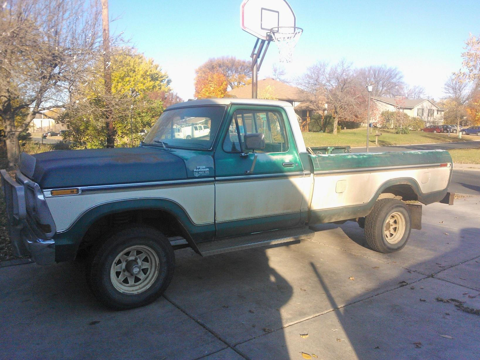 1979 f150 4x4 build pics ford truck enthusiasts forums. Black Bedroom Furniture Sets. Home Design Ideas