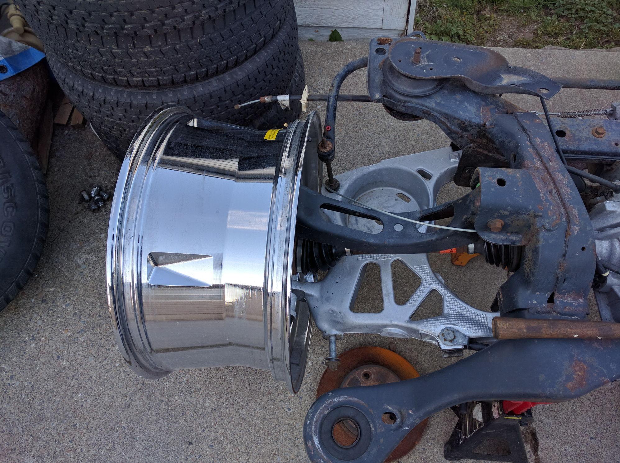 F100 Irs Swap Kit