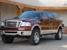 2007 Ford F150 King Ranch SoperCrew 4x4 with 2.5-inch lift