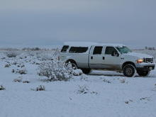 High Desert Snow 7