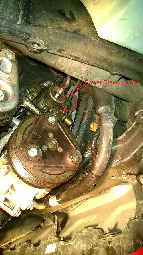 Pic D E D E C Cb D Cfc Df B on Ford Escape Power Steering Pump