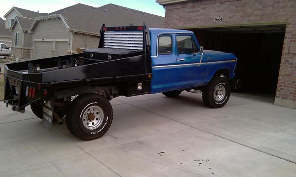 scores a custom flatbeds for pickups to install the latest flatbeds
