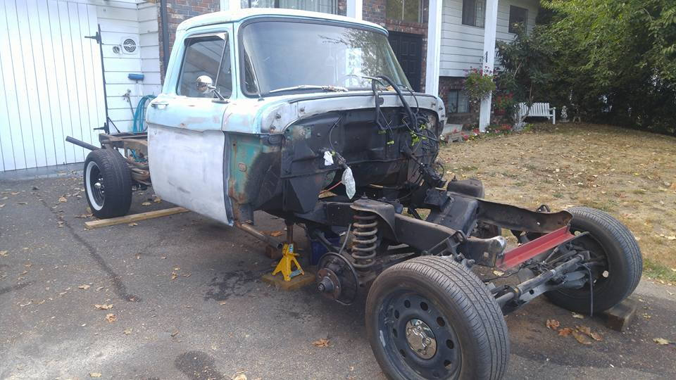 66 Ford F100 Crown Vic swap