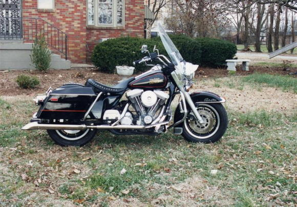'88 FLHS - First Harley - 1992 - Rode it to the 90th