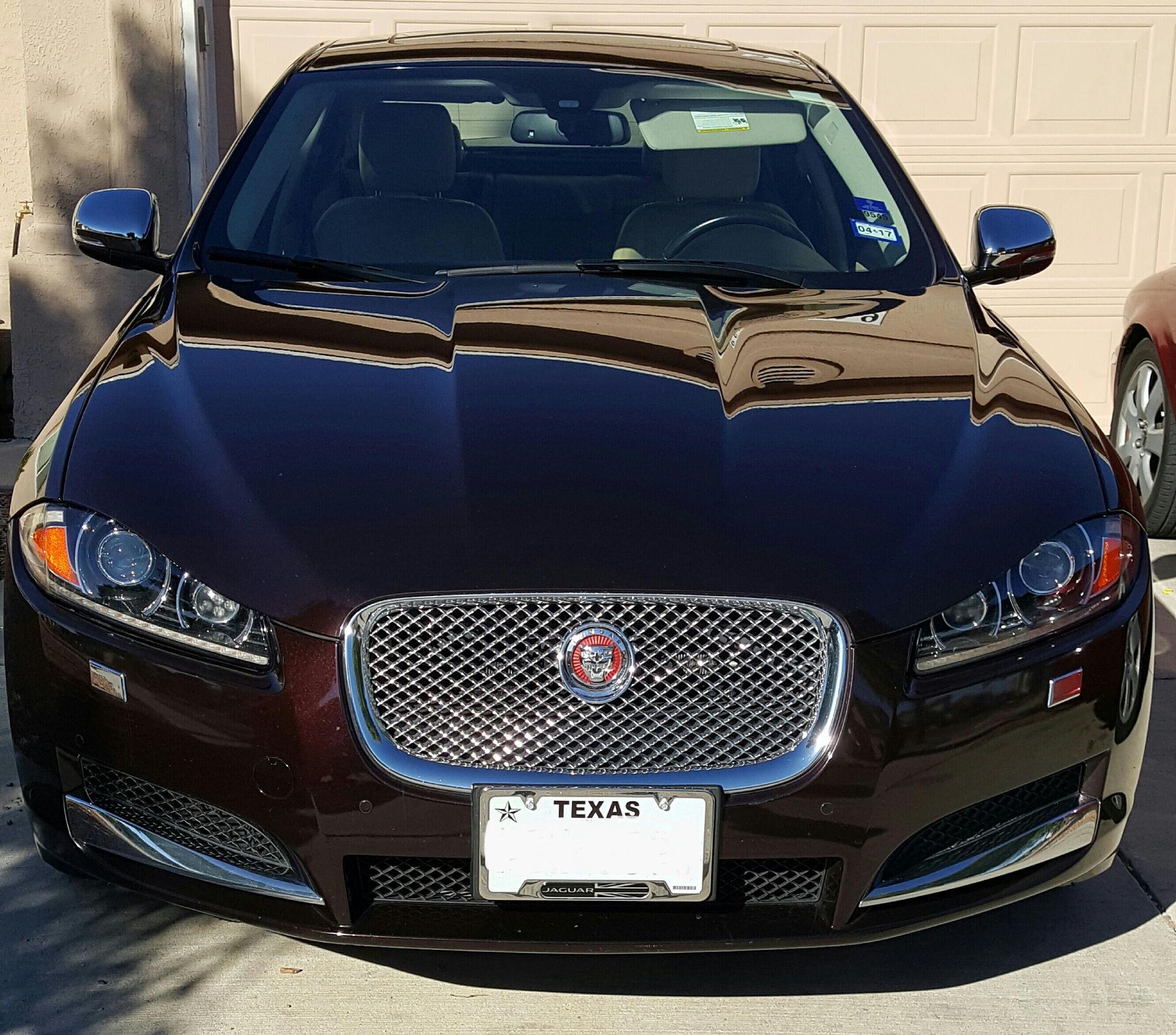 2015 Xf Jaguar: Jaguar XF Hood Leaper