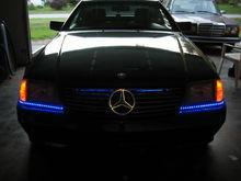 Illuminated MB Star on R129 SL320