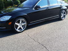 My MB 2011 S550 4MATIC