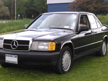 My little black '87 190E 8V
