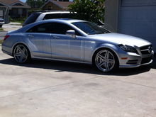 2012 CLS550 with DPE deep concave