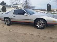 1986 Pontiac Firebird 2.8 V6 with only 38,000 original miles!