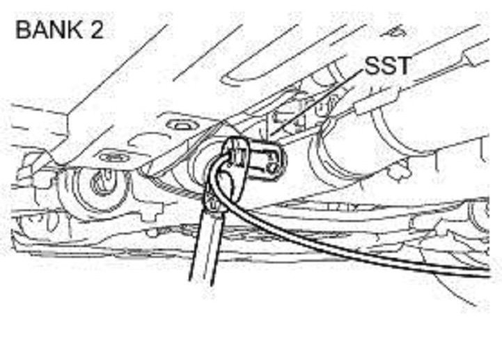 o2Sensor B2 24246 lexus is how to replace oxygen sensor clublexus Wire Harness Assembly at gsmx.co