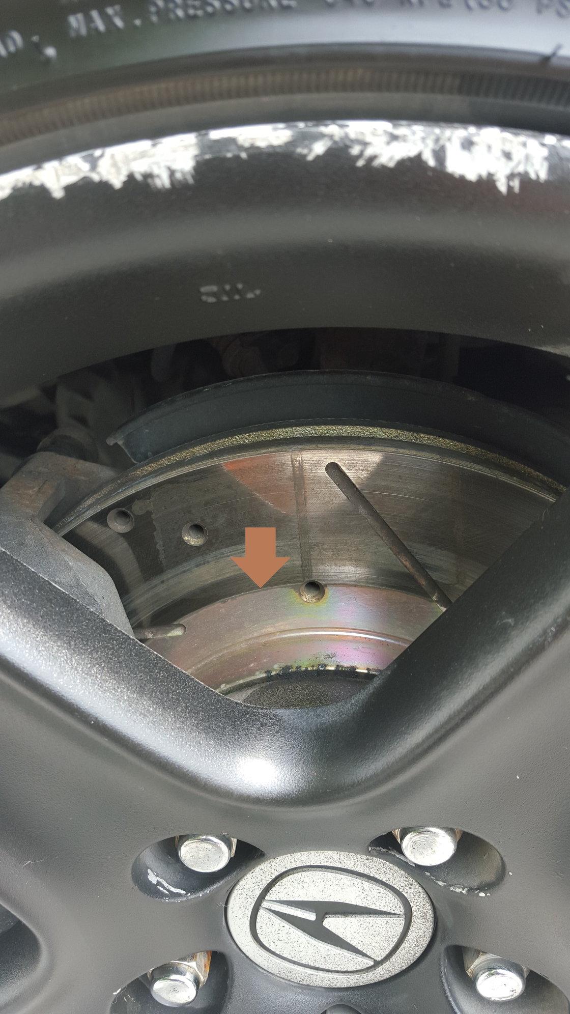 for 04-08 Acura TSX EBC Redstuff Ceramic Brake Pads Front /& Rear Set