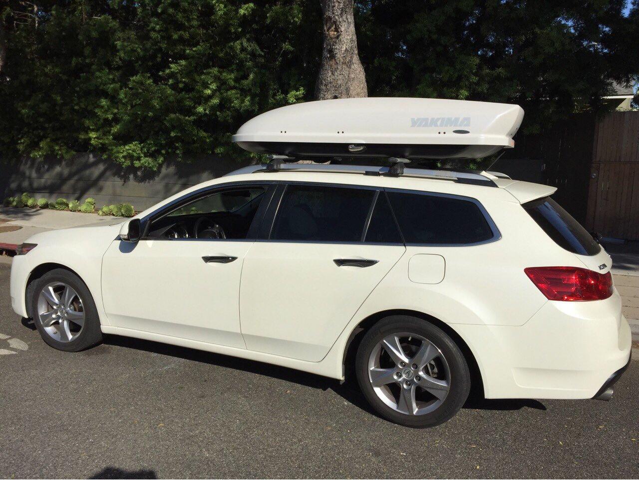 Tsx Wagon With Yakima Box Acurazine Acura Enthusiast Community