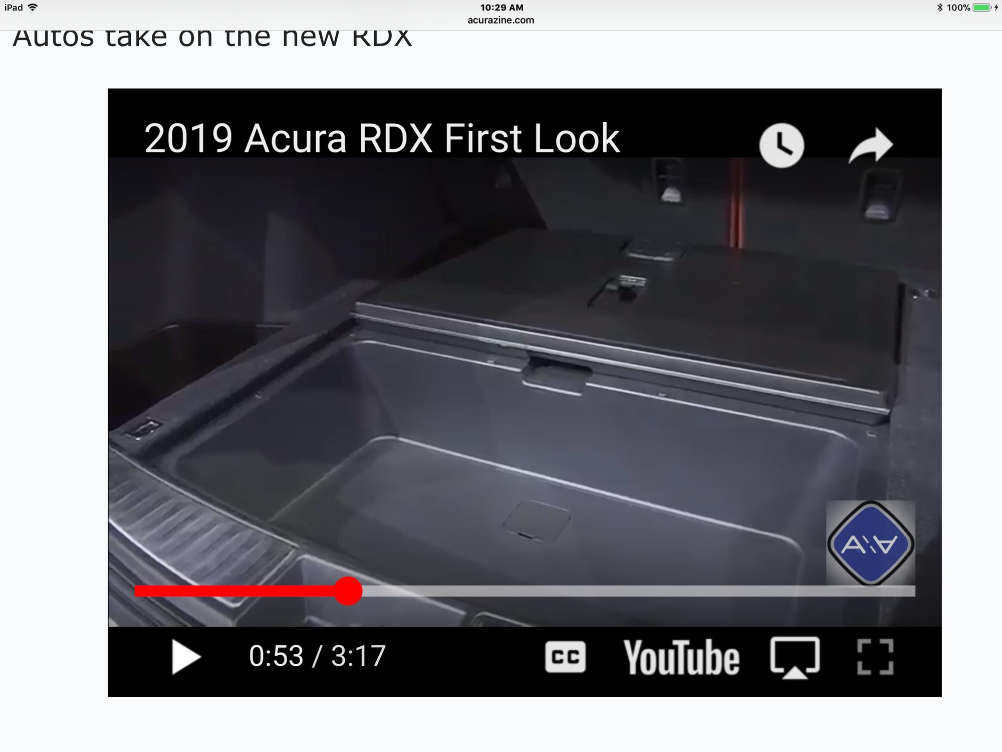 RDX Spare Tire AcuraZine Acura Enthusiast Community - Acura rdx tires