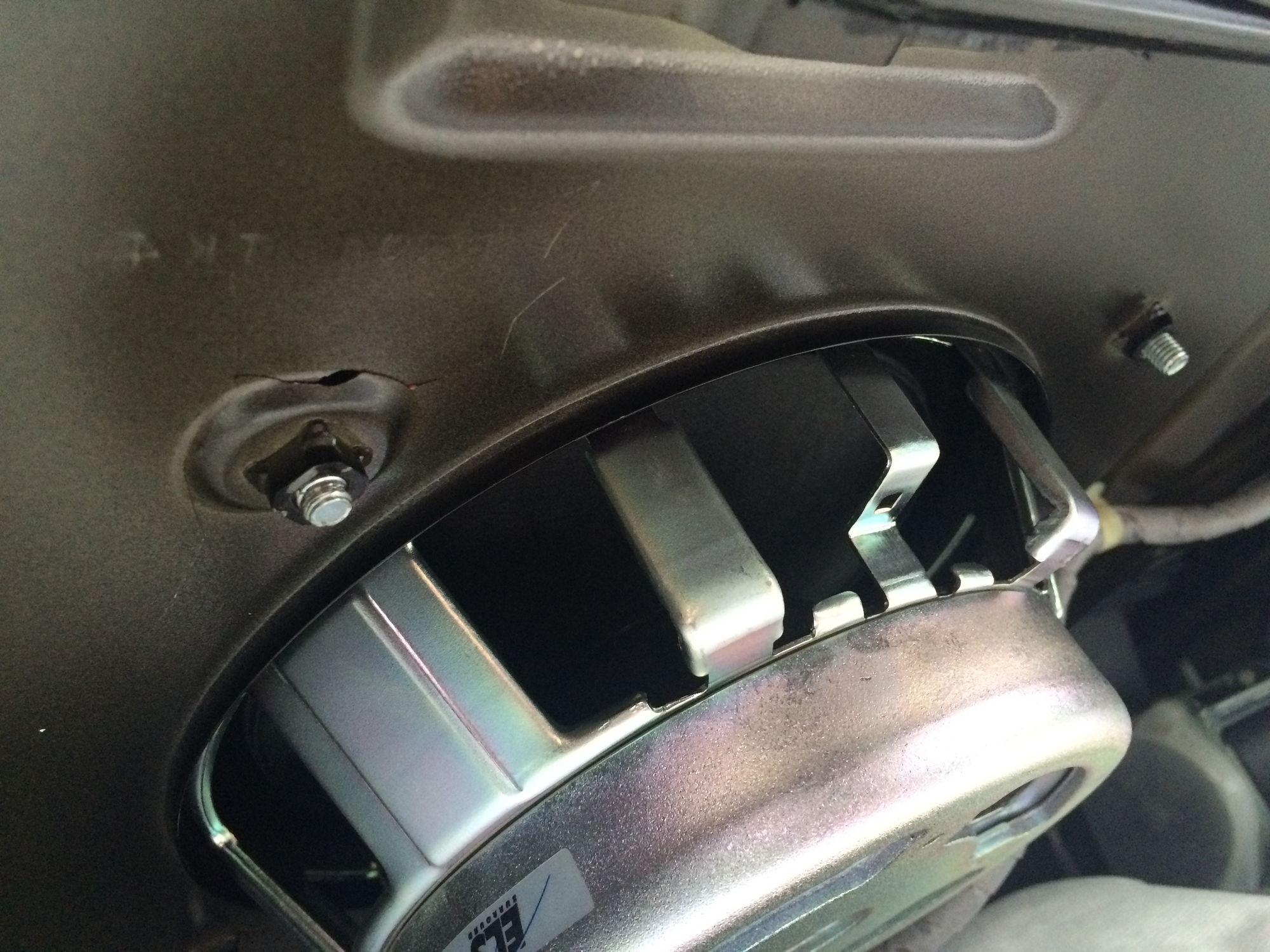 rear deck subwoofer acurazine acura enthusiast munity