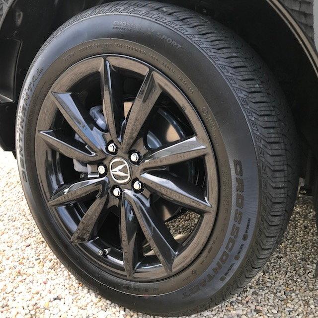 """Acura 19"""" Glint Black Wheel 08W19-TJB-200 On B/O"""