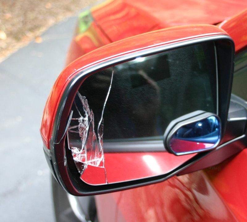 Repairing A Damaged Side Mirror
