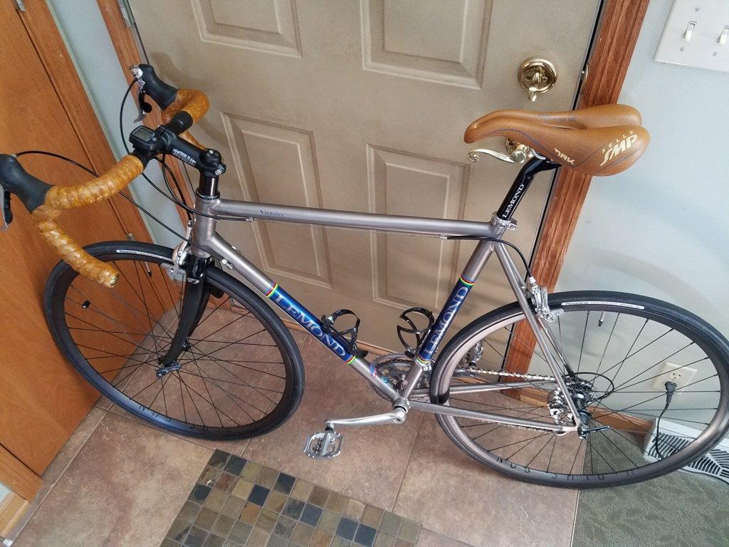My New To Me Merlin Ti Bike Forums