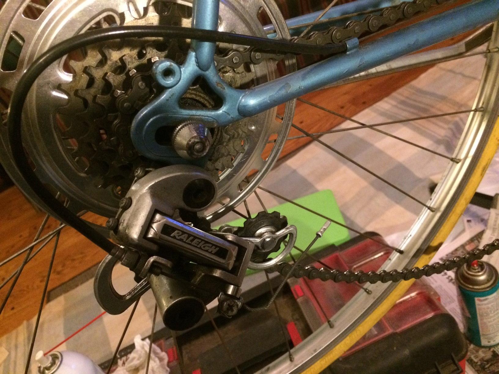 Derailleur Tension Spring Broken Help Bike Forums