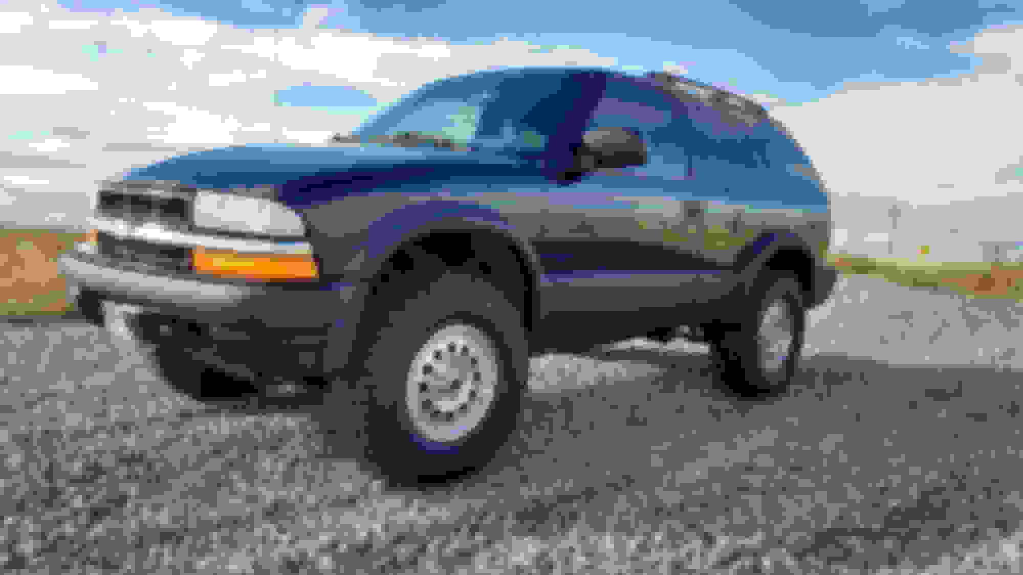 ZR2 tire Question - Blazer Forum - Chevy Blazer Forums