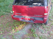 Trailer hitch needed... Wire for a winch hookup... New taillights...