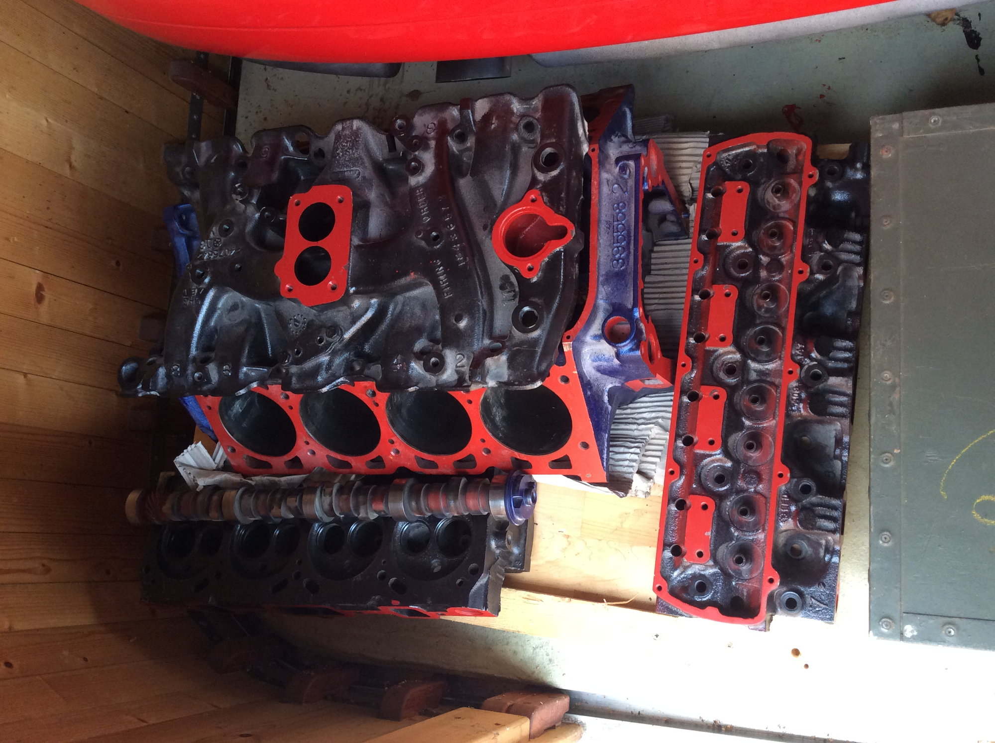 Rebuild an Olds 350 -395558-2 Engine with 7 Heads