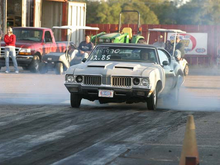 Here is a picture where you can see the aluminum ducts. A friend sent this picture to me i took first place in sports man at this event.I think this was in 2005.