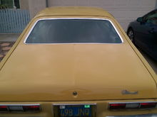 New hatchback lid painted GM 56 Chamois Gold