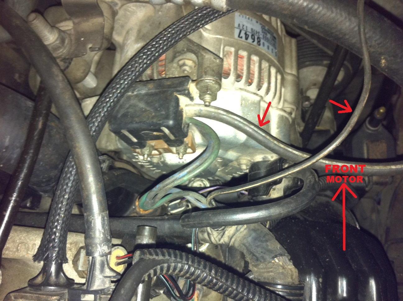 Alternator Ground Cables Help! - DodgeForum com