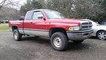 my '97 Ram 1500 4x4 360 gas auto