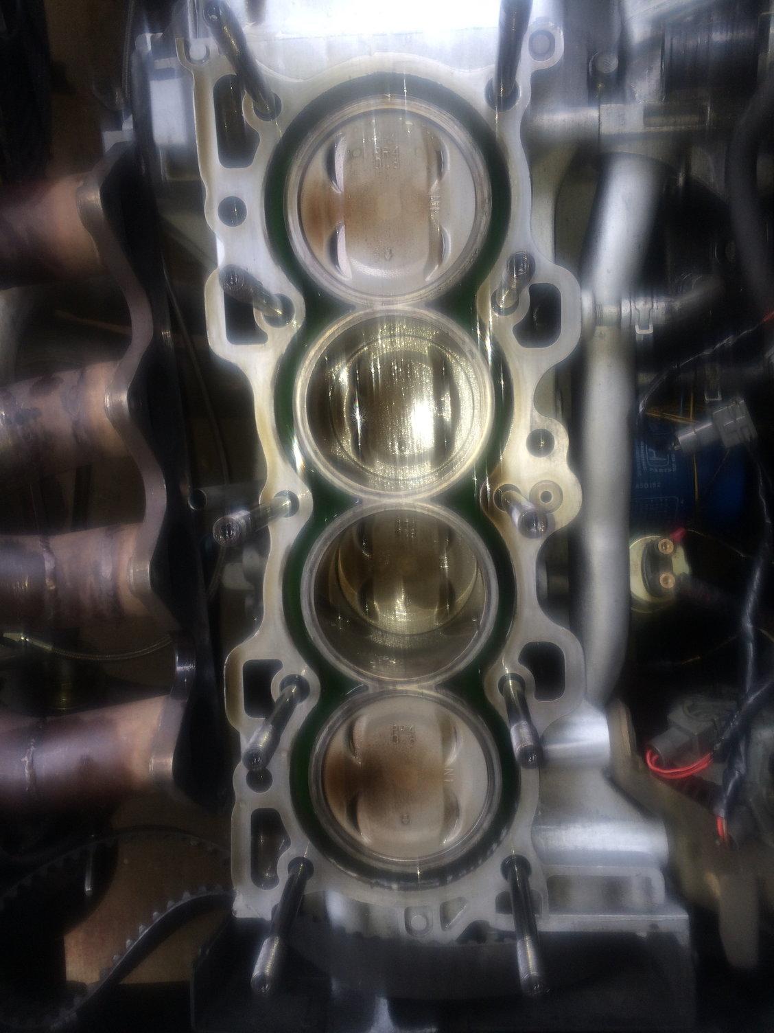 Turbo B18B fresh rebuild  Burning smoke on deceleration