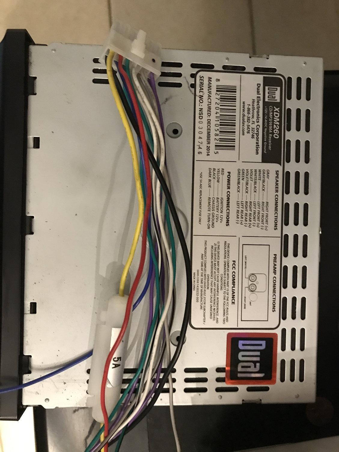 U0026 39 98 Civic Ex Stereo Wiring Question - Honda-tech