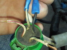 Why is my OBD1 Alternator harness same color as OBD2 ...