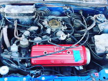 before with Si valve cover.