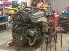 Engine and trans from donor car