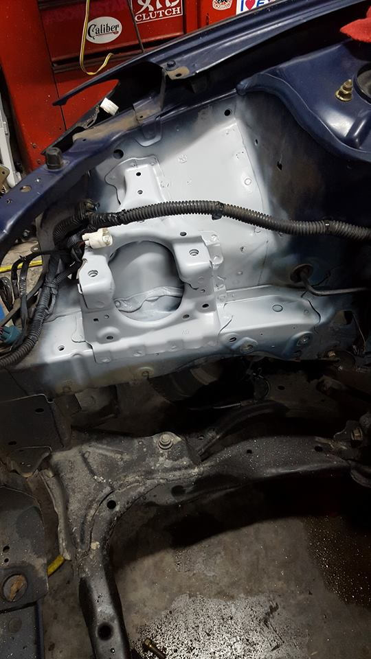 2005 civic es2 k20a3 swap the k series for Rsx passenger motor mount