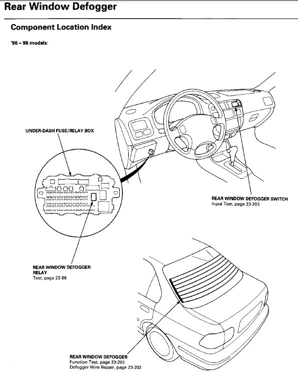 ctr defrost switch wiring - honda-tech