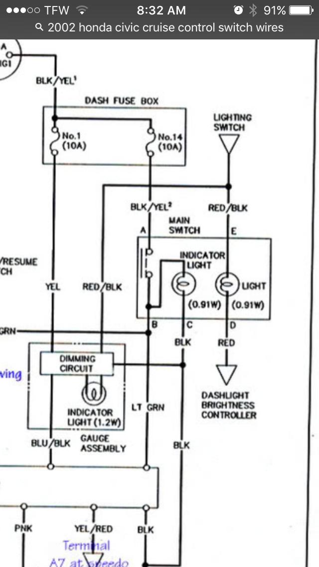 Thread 1988 Cruise Control Wiring - Wiring Diagram DB
