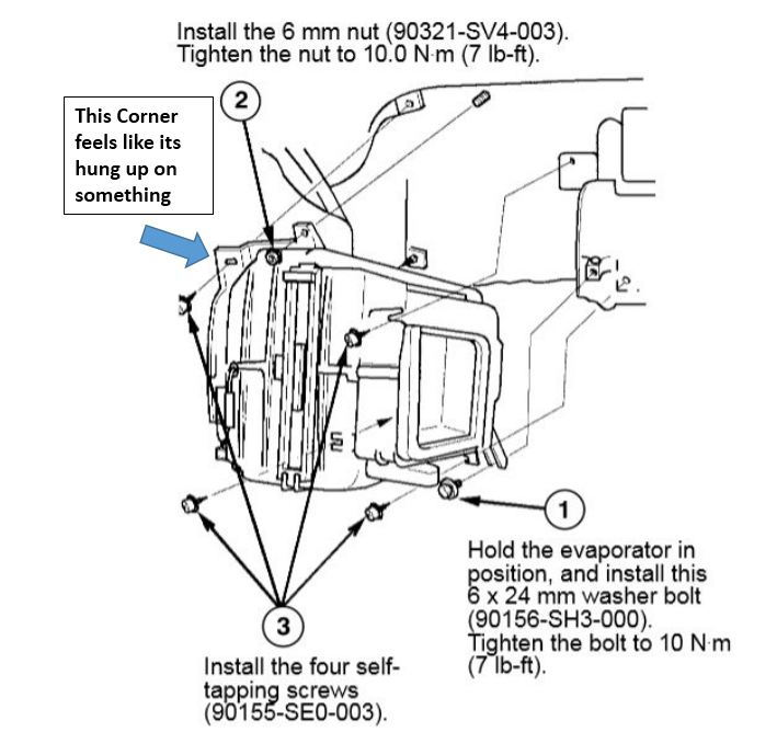 Help Needed Removing Evaporator From Ek Civic