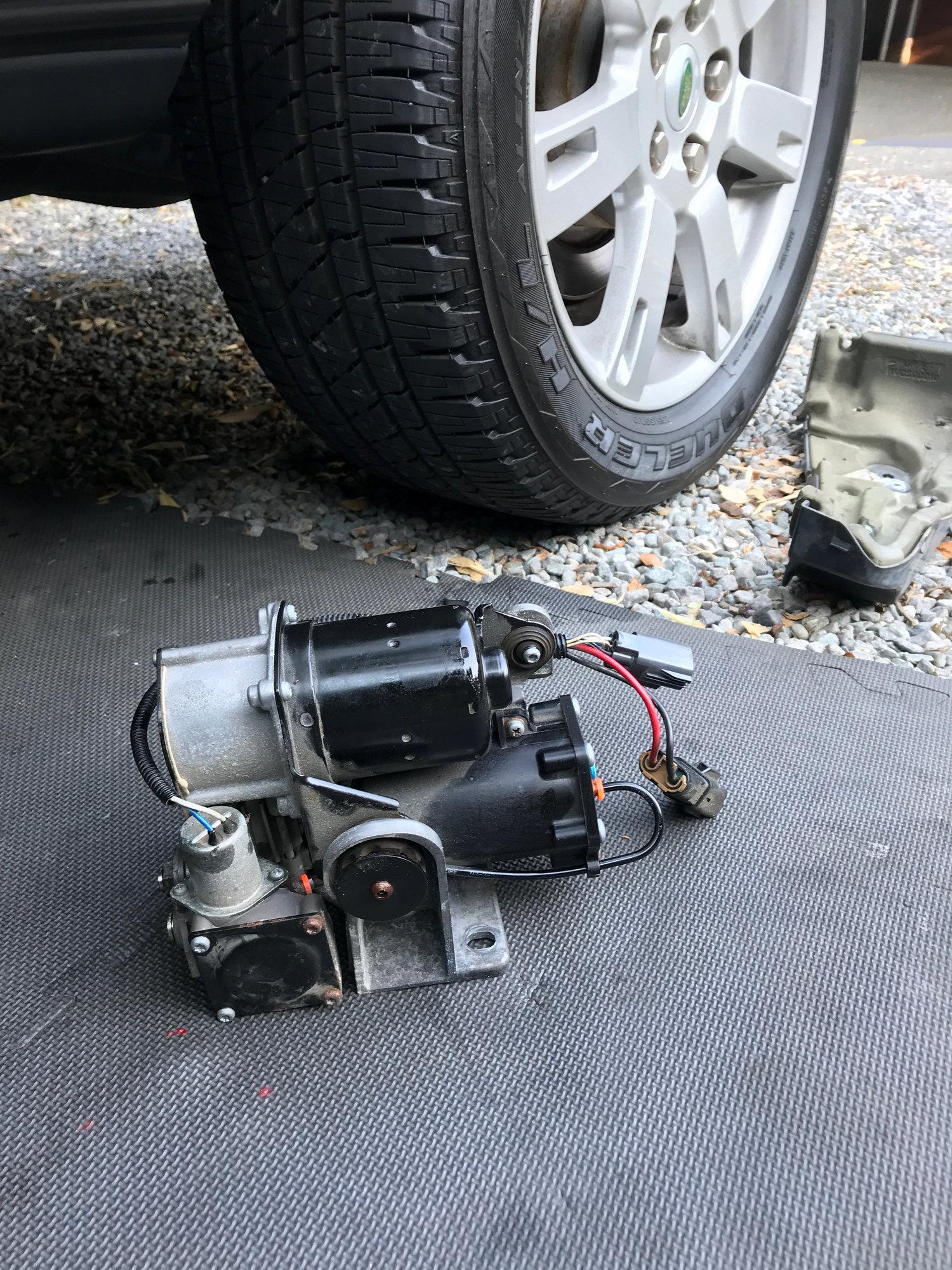First Post: Air Compressor/Dryer DIY Fix - Land Rover Forums