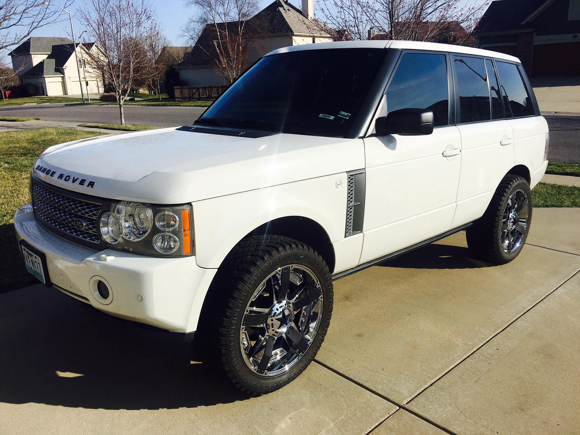 Range Rover L322 2005 2012 Lift Kit Land Rover Forums Land