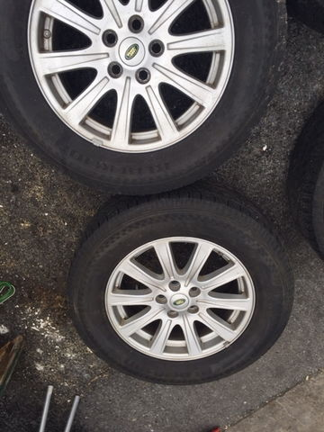 4 Lr3 18 Quot Wheels Land Rover Forums Land Rover