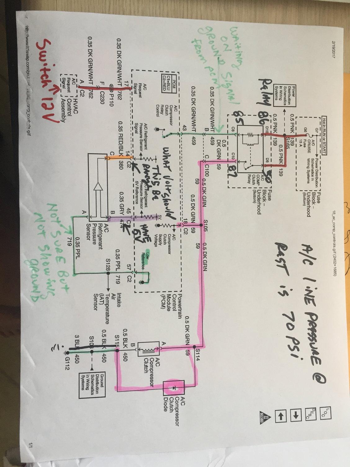 Auto A C Compressor Diagram On E36 A C Compressor Wiring Diagram