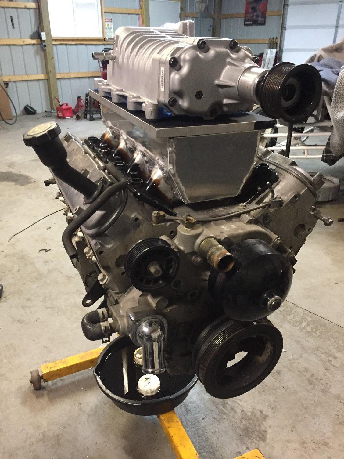 5 3 E85 Eaton M122 12psi Custom Intake On A Budget
