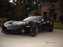corvette picture front